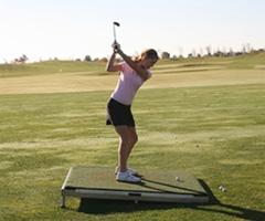 golf at any angle