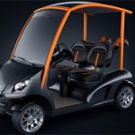 Luxury Golf Cars Bridge Science and Golf