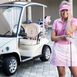 Paula Creamer Teams With Luxury Golf Car Maker Garia